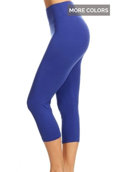 Picture of Yoga Solid Capris