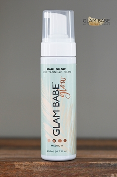 Picture of Maui Glow by Glam Babe Tanning Foam   Medium