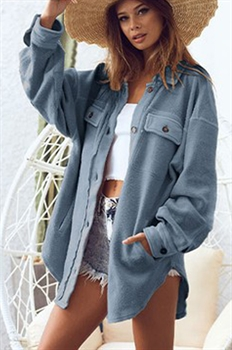 Picture of Button Down Oversized Shacket